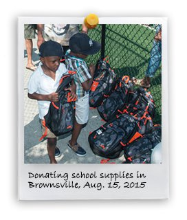 School Supplies Donation 2015