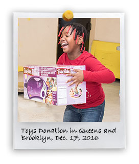 2016 Toys Donation in Brooklyn and Queens