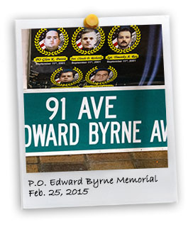 P.O. Edward Byrne Memorial, 2015 (2/25/2015)