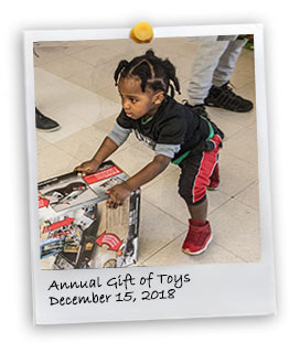 PBA Annual Gift of Toys