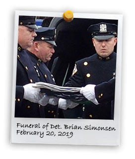 Funeral of Detective Brian Simonsen (2/20/2019)