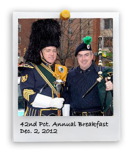 42nd Pct. Annual Breakfast (12/2/2012)