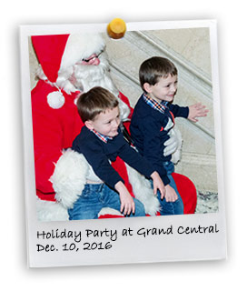 2016 Widows & Children's Holiday Party at Grand Central (12/10/2016)