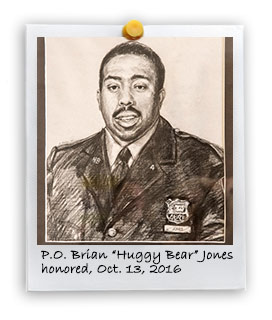"Police Officer Brian ""Huggy Bear"" Jones (10/13/2016)"