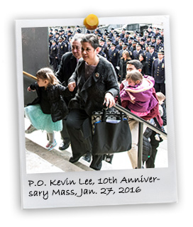 10th Anniversary Mass for PO Kevin Lee (1/27/2016)
